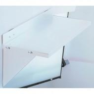 Tablettes pour panneaux perforés
