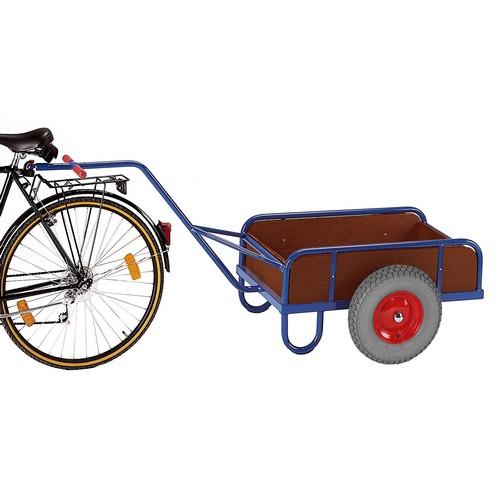 manuelle > Remorque à vélo > Remorque à vélo avec habillage bois