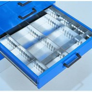 Compartimentage de tiroirs pour armoires à tiroirs