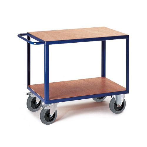 chariot plateaux bois charges lourdes 500kg de kappes. Black Bedroom Furniture Sets. Home Design Ideas