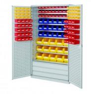 Armoires grande capacité avec tiroirs en bas équipées de bacs à bec