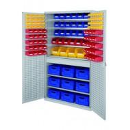 Armoires grande capacité avec tiroirs équipées de bacs Norme Europe