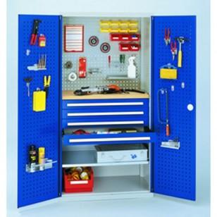 Armoires à tiroirs avec portes perforées