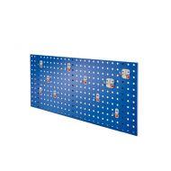 Composition de panneau perfore avec assortiment 10 pièces Abax - bleu gentiane